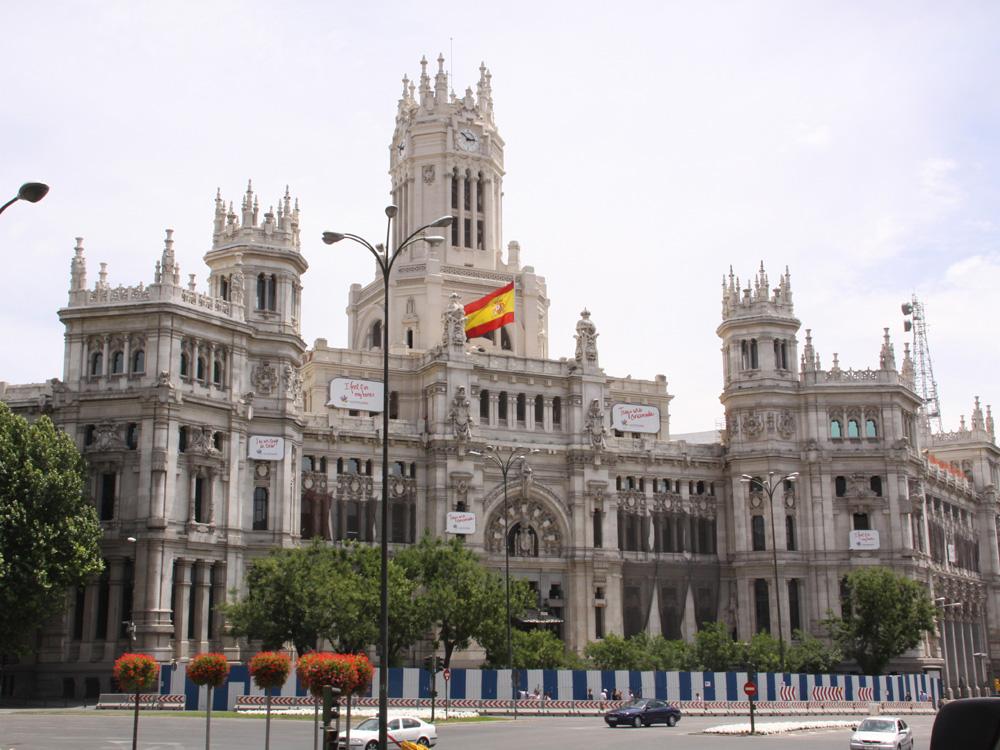 马德里  Madrid, Spain - 姹紫嫣红 - 嫣然一笑.999